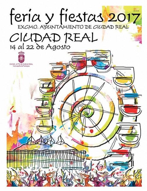 Cartel-Feria-y-Fiestas-Ciudad-Real-2017